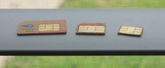 How to convert your Micro SIM into Nano SIM 1