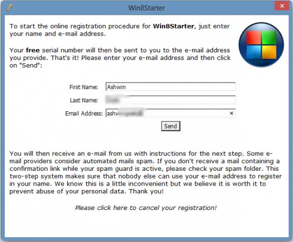 Get Win8Starter Full version (Start Menu) for free 2